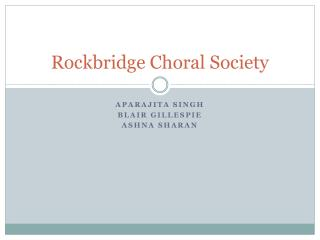 Rockbridge Choral Society