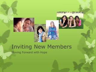 Inviting New Members