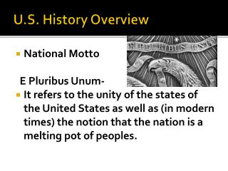 U.S. History Overview