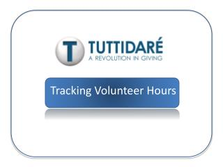 Tracking Volunteer Hours