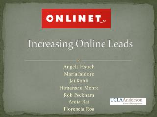 Increasing Online Leads