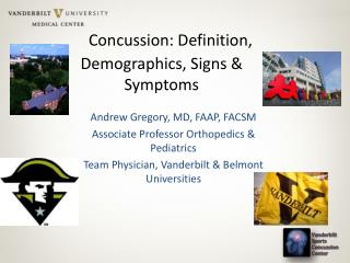 Concussion: Definition, Demographics, Signs & Symptoms