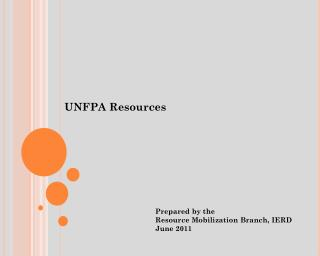 UNFPA Resources