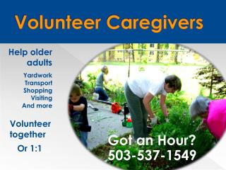 Volunteer  Caregivers
