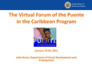 The Virtual Forum of the Puente in the Caribbean Program