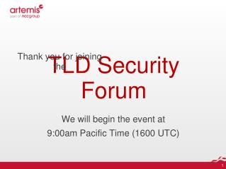 TLD Security Forum