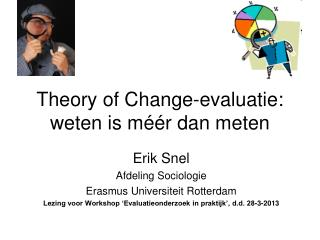 Theory  of Change-evaluatie: weten is m éé r dan meten