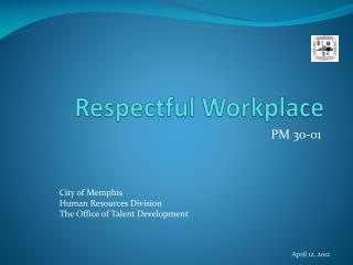 Respectful Workplace