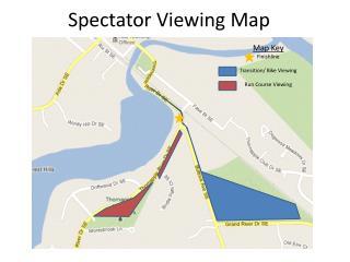 Spectator Viewing Map