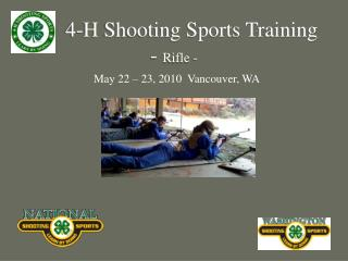 4-H Shooting Sports Training -  Rifle -