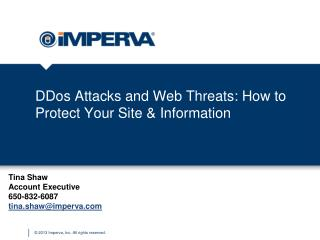 DDos  Attacks and Web Threats: How to Protect Your Site & Information