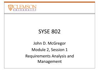 SYSE 802