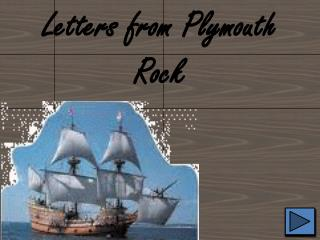 Letters from Plymouth Rock