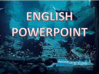 ENGLISH POWERPOINT