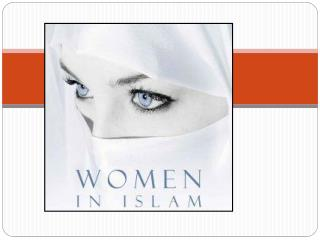 Misconceptions about Women in Islam