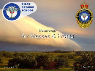 Meteorology Air Masses & Fronts