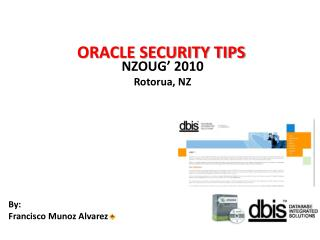 ORACLE SECURITY TIPS