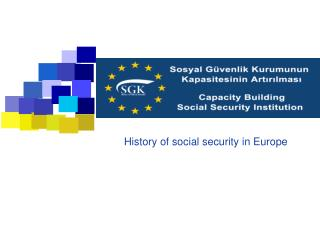 History of social security in Europe