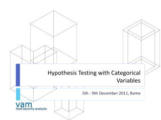 Hypothesis Testing with Categorical Variables