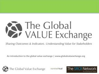 An introduction to the global value exchange | globalvaluexchange