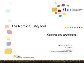 The  Nordic  Quality tool