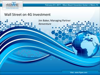 Wall Street on 4G Investment