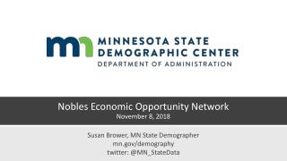 Nobles Economic Opportunity Network November 8, 2018
