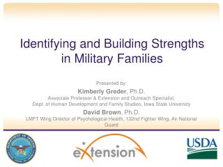 Identifying and  Building Strengths  in  Military Families