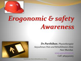 Erogonomics health