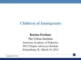Children of Immigrants