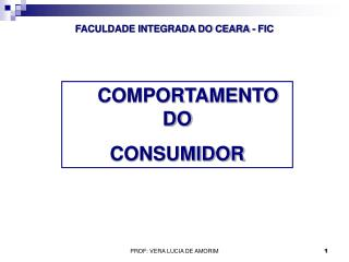 FACULDADE INTEGRADA DO CEARA -  FIC