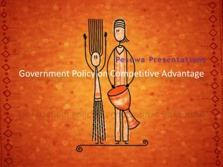 Government Policy on Competitive Advantage