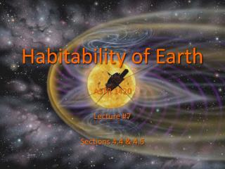 Habitability of Earth
