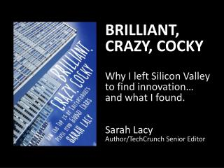 WHY I LEFT SILICON VALLEY