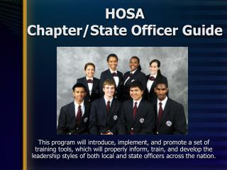 HOSA Chapter/State Officer Guide