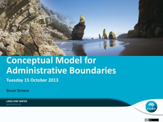 Conceptual Model for Administrative Boundaries