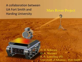 Mars Rover Project