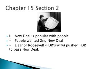 Chapter 15 Section 2