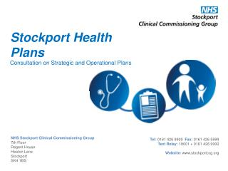 Stockport Health Plans