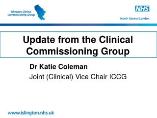 Update from the Clinical Commissioning Group