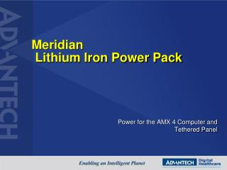 Meridian  Lithium Iron Power Pack