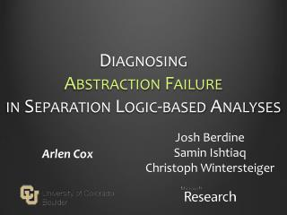 Diagnosing Abstraction Failure in Separation Logic-based Analyses
