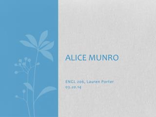 Alice Munro