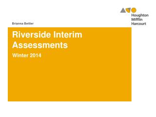 Riverside Interim Assessments