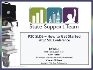 P20 SLDS – How to Get Started 2012 MIS Conference Jeff Sellers SLDS State Support Team