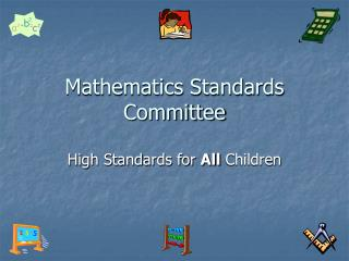 Mathematics Standards Committee