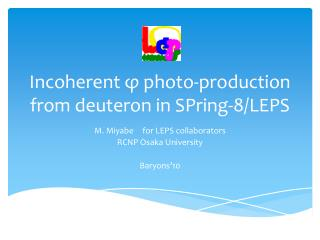Incoherent φ photo-production from deuteron in SPring-8/LEPS