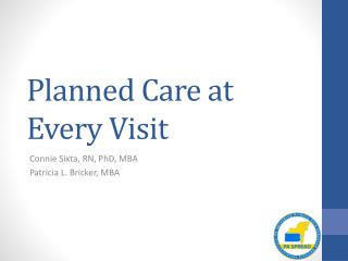 Planned Care at Every Visit