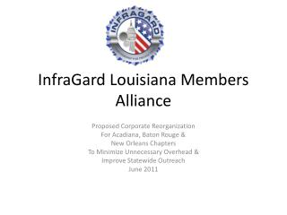 InfraGard  Louisiana Members Alliance