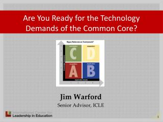 Jim Warford Senior Advisor, ICLE